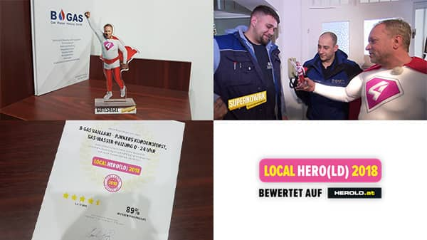 Supernowak Installateur Testsieger & Herold Local Hero