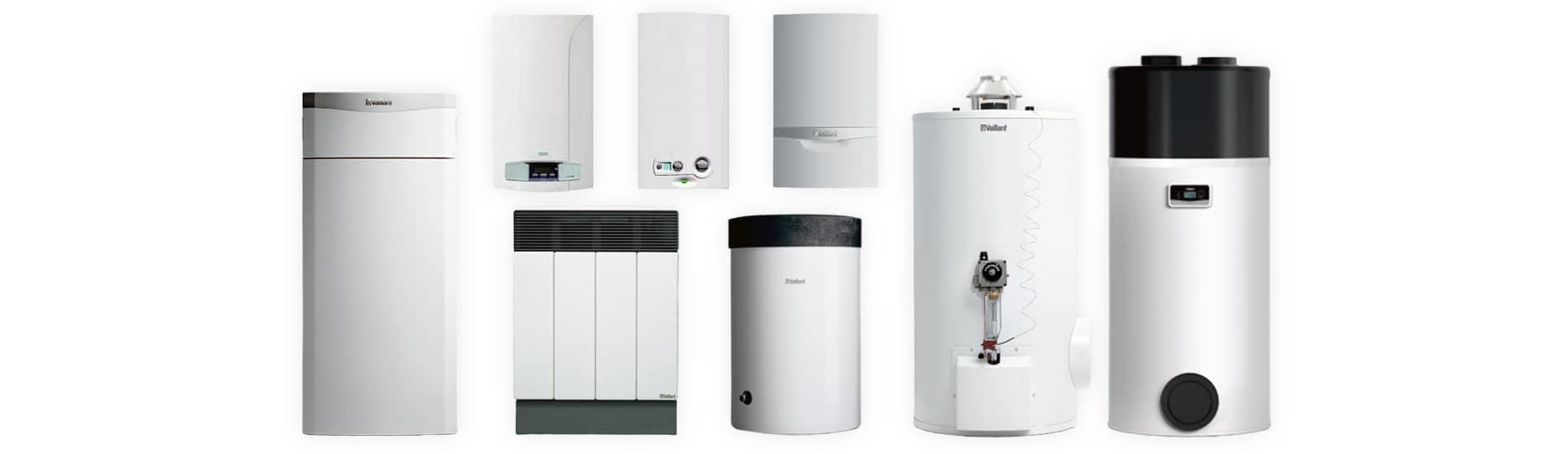 Gasheizungen und Warmwasserbereiter