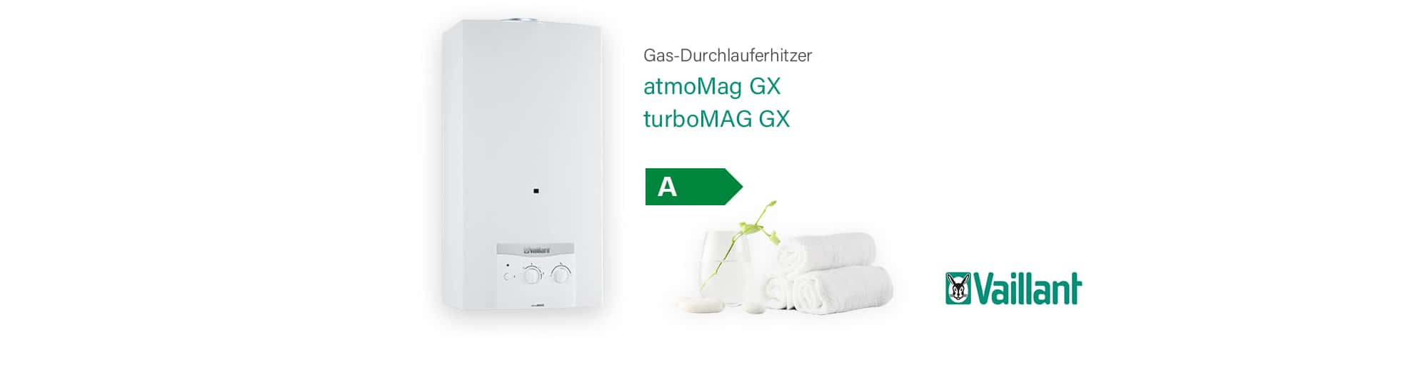 Vaillant atmoMAG & turboMAG Durchlauferhitzer
